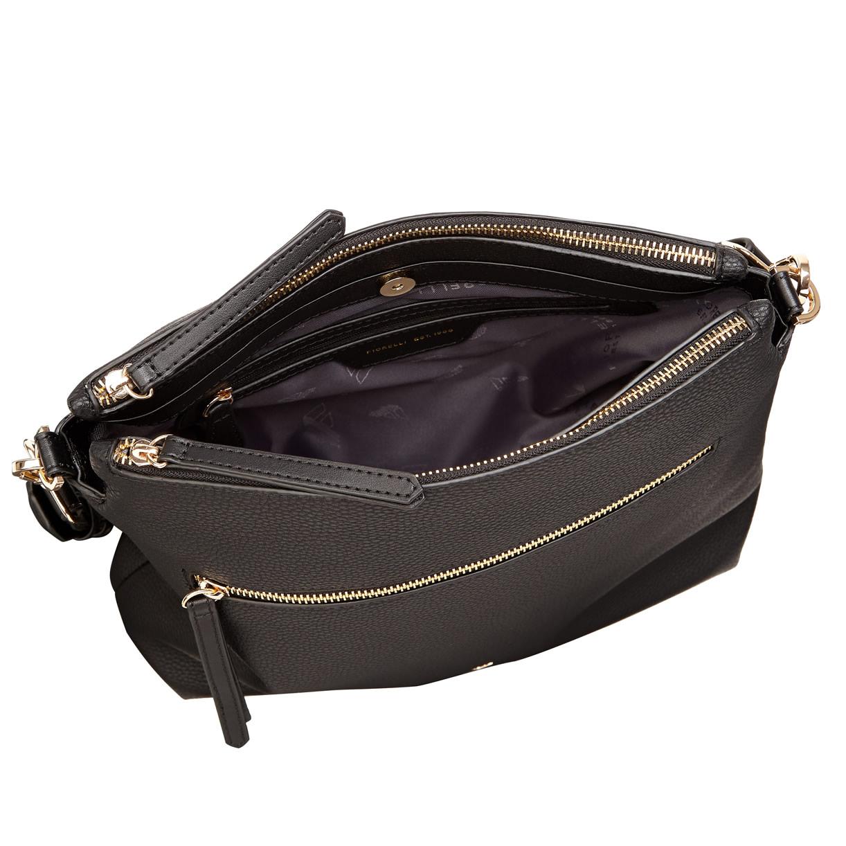 399e38646e4 Fiorelli Elliot Crossbody Dual Strap Bag - Black - BLACK - Jehovah's ...